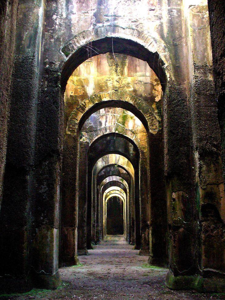 piscina mirabilis Abandoned, Italy, Naples