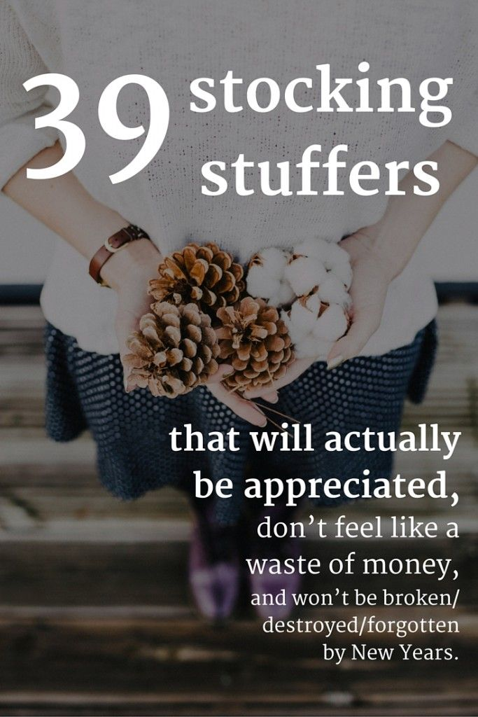 39 stocking stuffers that will actually be appreciated, don't feel like a waste of money, and won't be broken/forgotten/destroyed by New Year's | Modern Mrs Darcy