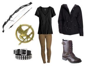Disfraz de Katniss Everdeen,  encuentra más opciones en disfraces caseros para este Halloween aquí..http://www.1001consejos.com/8-sencillos-disfraces-caseros-para-mujer/