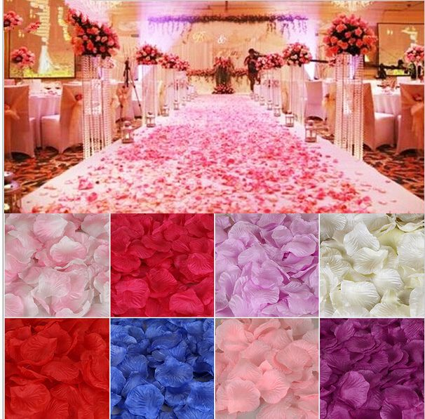 Find More Event & Party Supplies Information about Wedding Favors Flower Petals Wholesale 1000pcs/set Wedding Decorations Fashion Atificial Flowers Polyester Wedding Rose Petals,High Quality petal dress,China petal Suppliers, Cheap petal blue from Amazing Life Amazing Wedding on Aliexpress.com