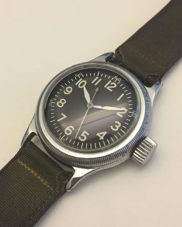 Vintage Elgin A 11 Military Watch Wwii Vintage Watches