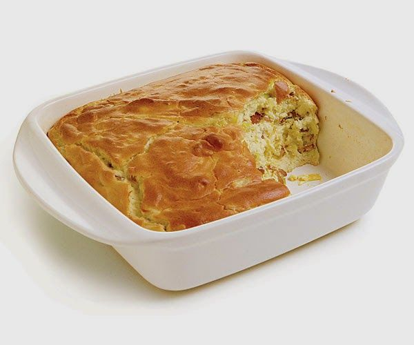 CARB WARS BLOG: BACON AND LEEK SOUFFLE
