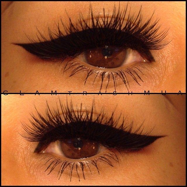 glam_trash_mua @glam_trash_mua | Websta (Webstagram) #eyeliner #lashes