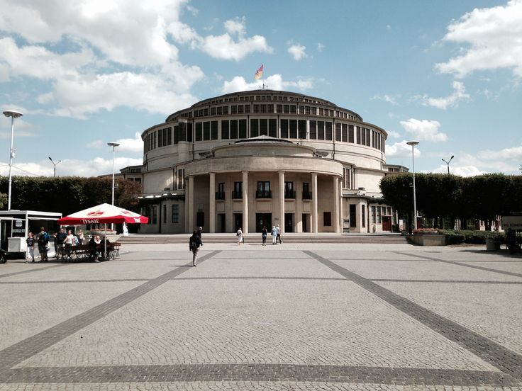 Jahrhunderthalle Hala Stulecia Wystawowa 1, 51-618 Wrocław, Polen