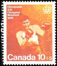 Canada B8 Stamp - Olympic Boxing Stamp - NA C B8-3 MNH