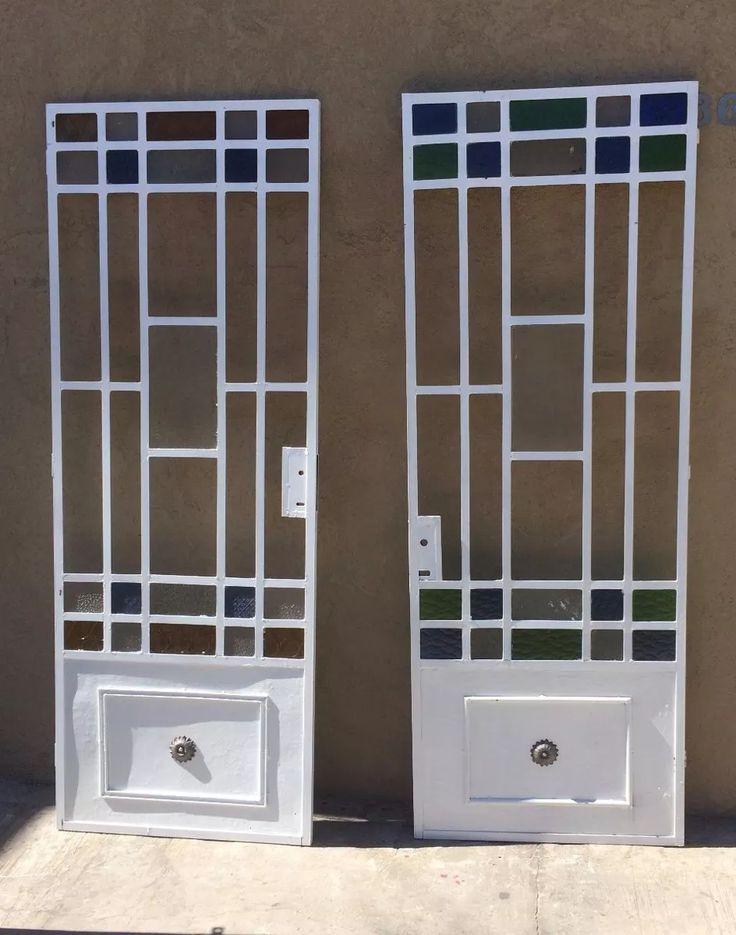 17 mejores ideas sobre puertas de hierro en pinterest Puertas metalicas usadas