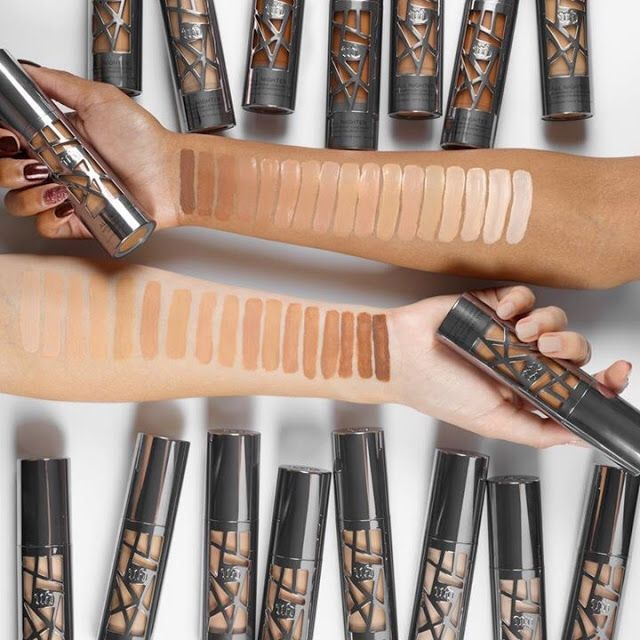 Urban Decay All Nighter Foundation Swatches All Makeup Beauty
