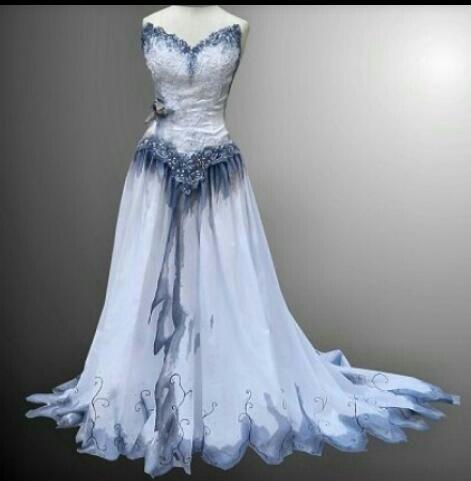 Corpes bride dress #Tim burton