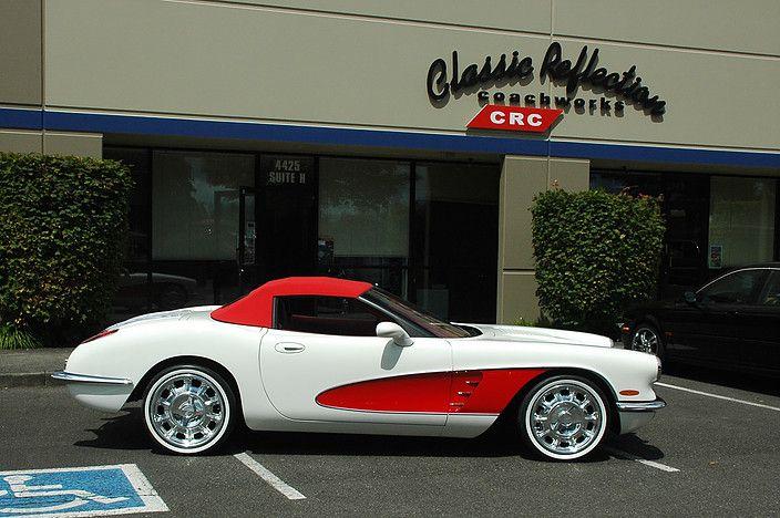 New Corvette Old Body Style Retro Vette Crc Corvette