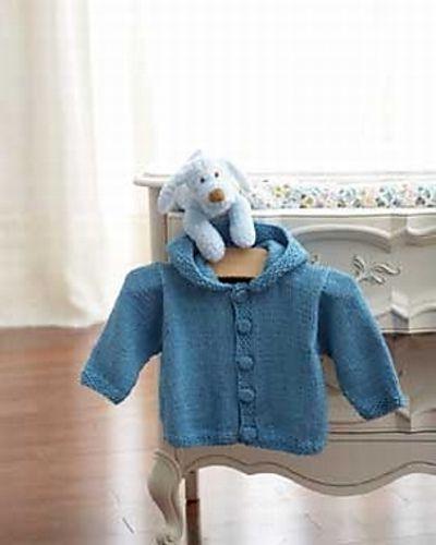 Ravelry: Knit Hoodie #3840 pattern by Bernat Design Studio.  Free pattern