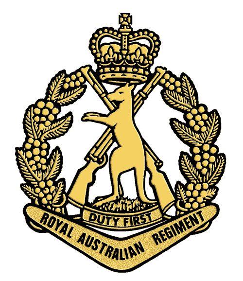 Royal Australian Regiment.