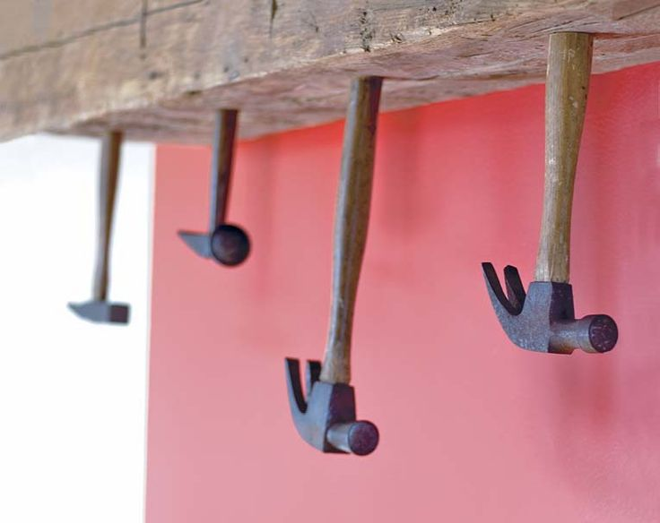 441 best images about perchas y percheros reciclados on for Gear shift coat rack