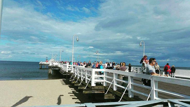 #summer #holliday #sunday #sopotmolo #sopot #3city #beach #sunday #beautifull #weather #sea #polishsea #poland