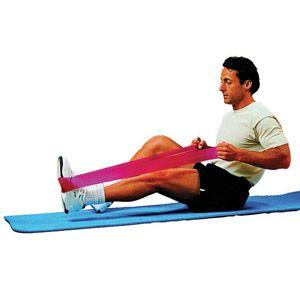 1000 id es sur le th me exercices avec bande lastique sur for Elastique musculation