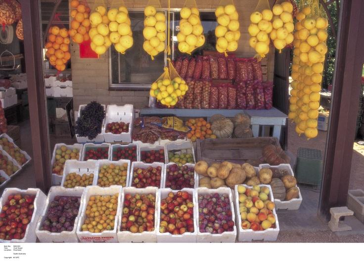 River lands produce.    Image Source: SA Tourism Commission.