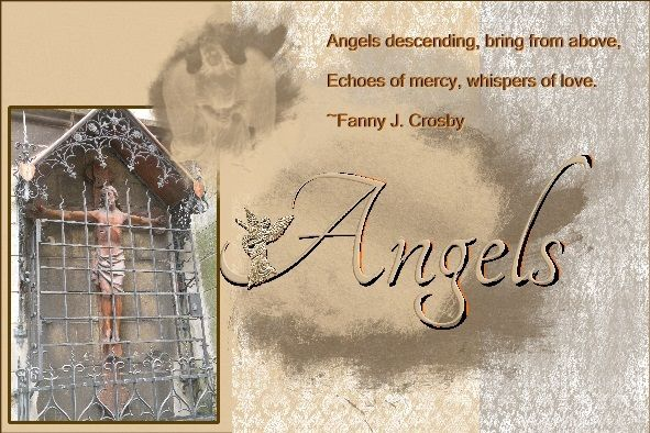 Dutchie Nelleke's gallery - Jan.2016 - Angels - Hi Anne-Marie , here is my page - Jan.2016 - Angels , made by your loving : am_Jan16_ABC_Gift. thanks Anne-Marie! Quote free to use from - quotegarden.com Angels descending, bring from above, Echoes of mercy, whispers of love. ~Fanny J. Crosby font - Script Pict. my own taken in Aachen last year Sept. 2015 shadowed a bit