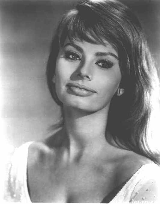 Sophia Loren; probably one of the most beautiful women to come out of Italy…