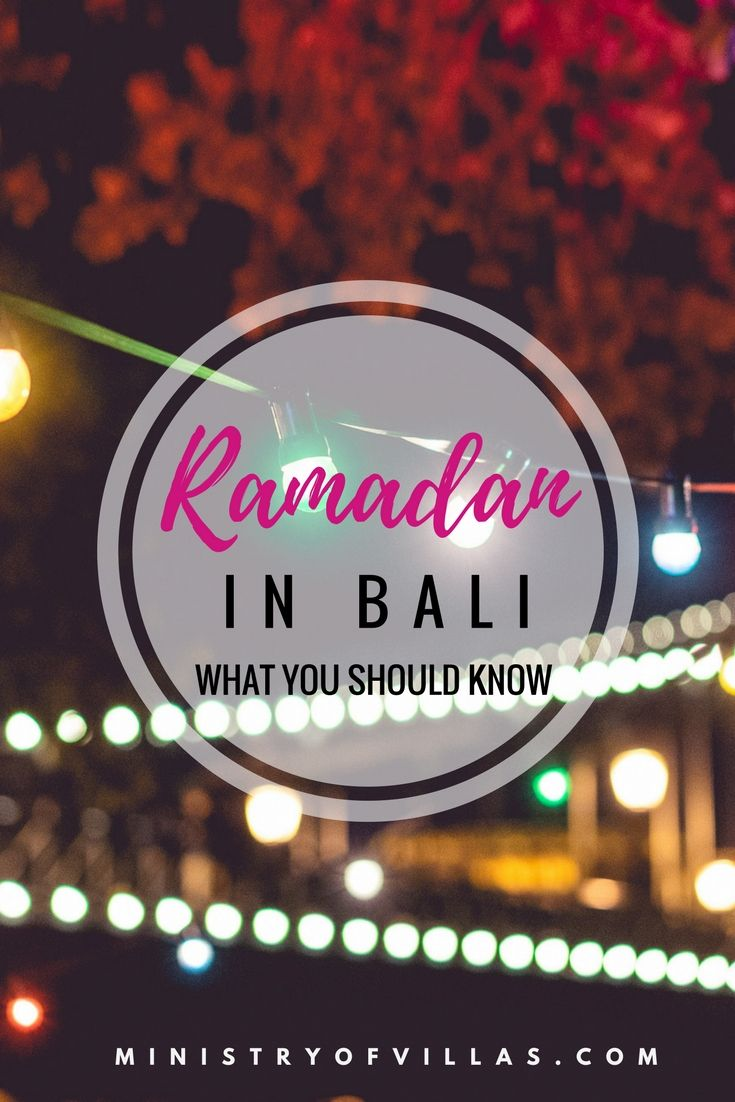 Bali is a Hindu island, but part of the largest Muslim country in the world, Indonesia. If you're heading to Bali during Ramadan or Idul Fitri, check out this guide to everything you need to know about Ramadan in Bali and how the celebrations might affect your trip to Bali.