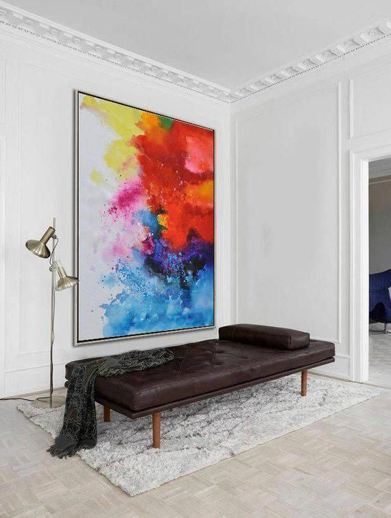 """Determine additional relevant information on """"contemporary abstract art painting…"""