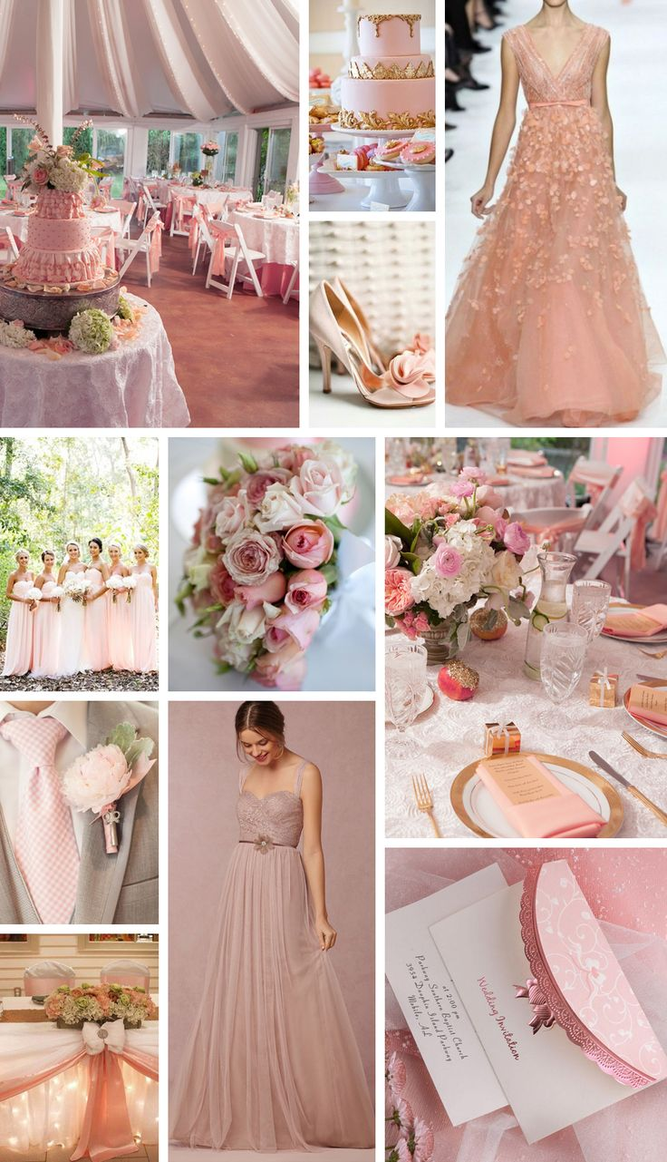A Cor do Ano 2016: Rose Quartz (ou Rosa Quartzo) Hypefemme | por Patricia Sachs - Inspiração Casamento / Wedding Inspirations