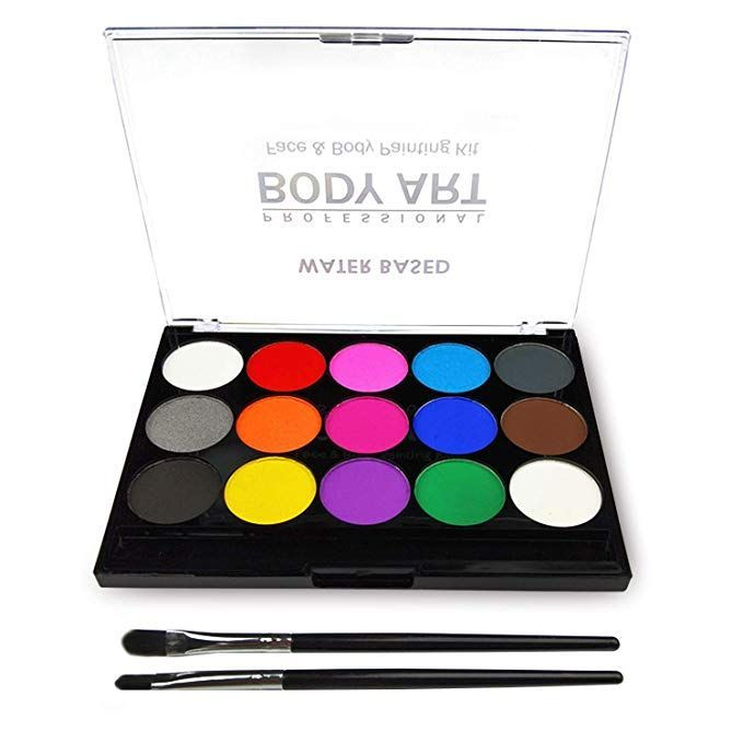 Cool Amazon Com Make Up Kit For Children Facial And Body Painting In Body Art
