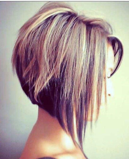 48 Best Haircut Images On Pinterest Hair Looks Colors And. Graduated Bob  Haircut Diagonal Forward ...