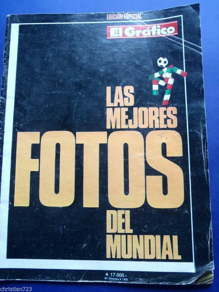 1990 FUTBOL SOCCER WORLD CUP ITALIA MARADONA GRAFICO MAGAZINE ARGENTINA XRARE !
