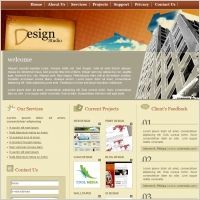 Web Design California Design Studio Template