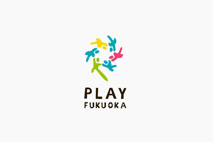 PLAY FUKUOKA ロゴ  #vi #ci #logo #typo #design #fukuoka #child #kids