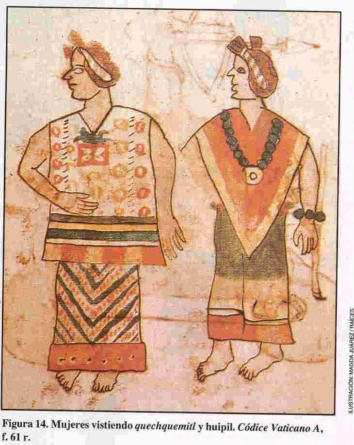 ancient aztec clothing - 730×917