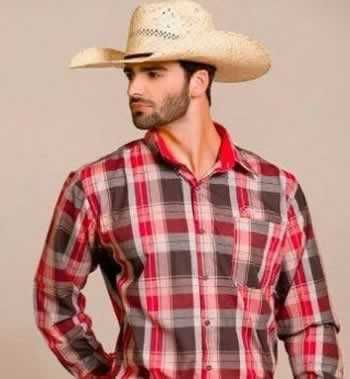 7f2bcab457cc0 Moda country masculina