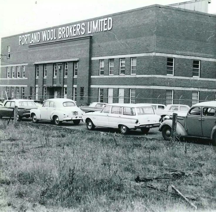 Portland wool stores in the 60's
