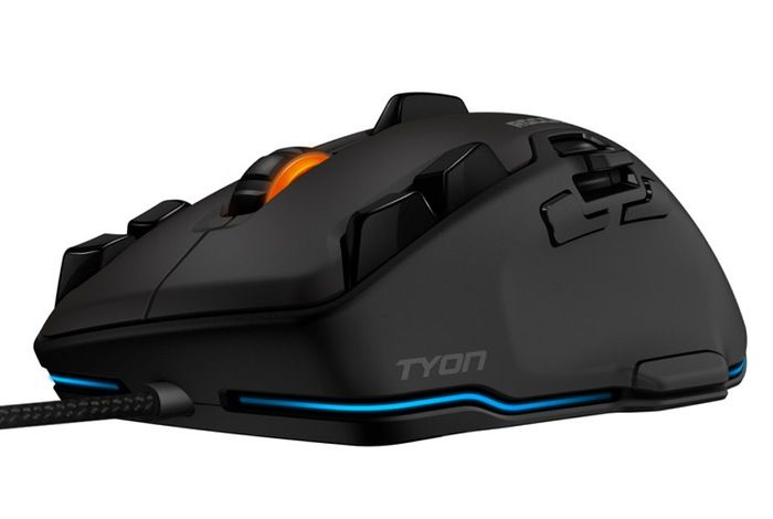Roccat Tyon Gaming Mouse - The Roccat Tyon is fitted with a 8200 DPI laser sensor offering a 1000Hz polling rate and 1ms response time and is powered by its own 32-bit processor and 576K of RAM.   Geeky Gadgets