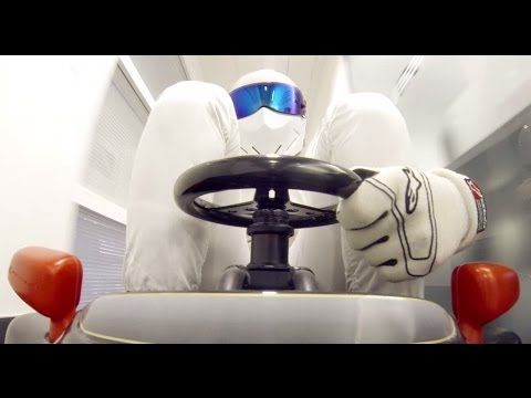 Has Stig actually stolen an F1 car? - Top Gear - BBC - YouTube << Him in the go-kart was too funny!