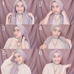 Tutorial Hijab Pesta - http://hijabtuts.com/tutorial-hijab/