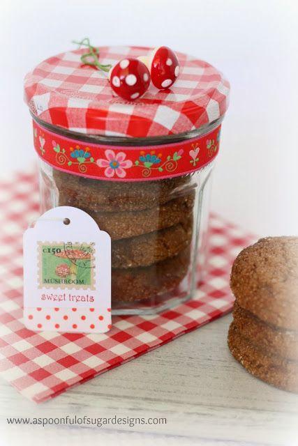 Package Cookies  in Bonne Maman Jar| A Spoonful of Sugar