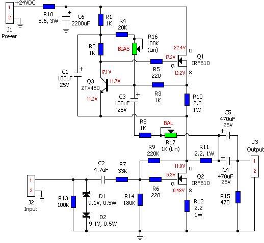 hi fi headphone amplifier circuit diagram amplifier circuit design