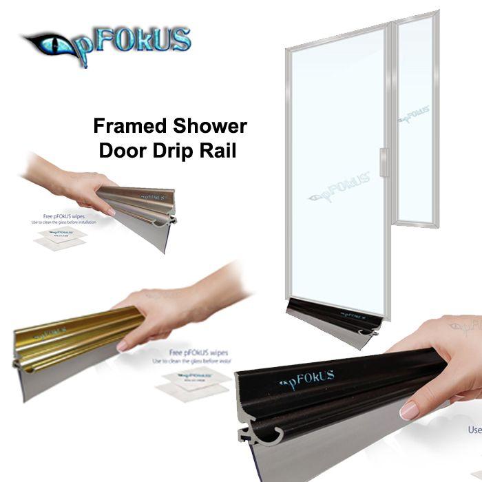 Buy Shower Door Drip Rails For Your Bathroom Framed Shower Door