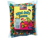 A bulk bag of Finetime Mini Jelly Beans Mixed.
