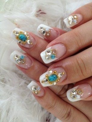 Acrylic Nail Art Designs for Summer - Get your nails looking fabulous up to 4 weeks by turning towards acrylic nails. There are numerous fab acrylic nail art designs to take advantage of, so check out these fab summery nail art designs and pick your favorites in time for your next mani session!