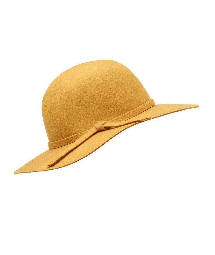 MINI BRIM FLOPPY HAT HONEY MUSTARD