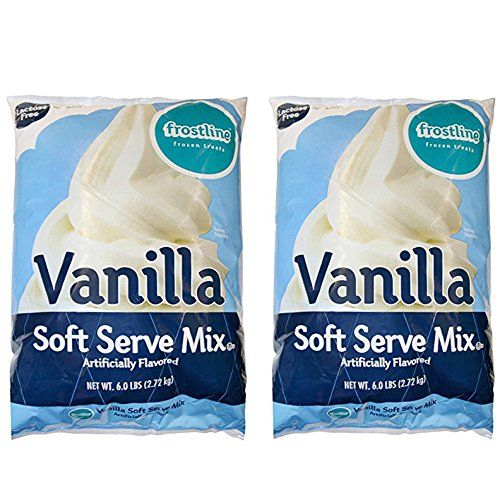 Frostline Vanilla Soft Serve Ice Cream Mix, Large 6 Pound Bag, (2 Bags) *** Continue with the details at the image link.