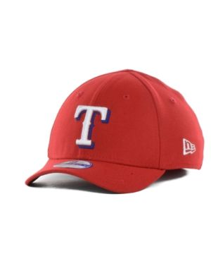New Era Texas Rangers Team Classic 39THIRTY Kids' Cap or Toddlers' Cap - Red Toddler