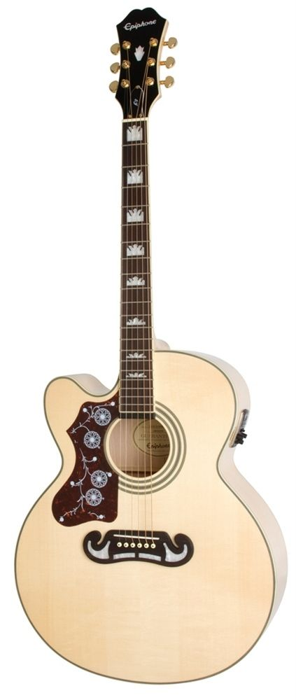 Epiphone 2014 Limited Edition Left Handed Collection EJ200CENAGHLH