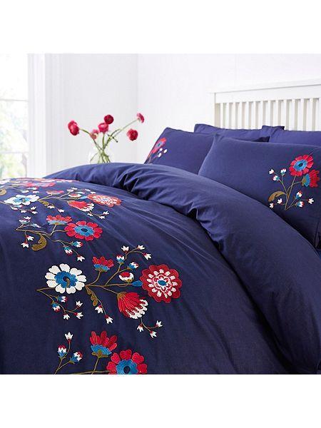 Gretel embroidery duvet cover set