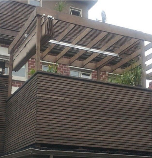 Metal Pergola With Retractable Canopy Outdoor Goods