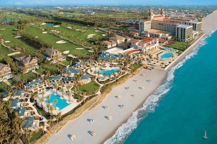 The Breakers Palm Beach - 5 Bucket List Florida Resorts - Southernliving. See what it's like to vacay like the Rockefellers, Vanderbilts, Astors, and Carnegies—all of whom stayed here. (Which might explain the price tag—400 smackeroos and up. But a girl can dream.) thebreakers.com