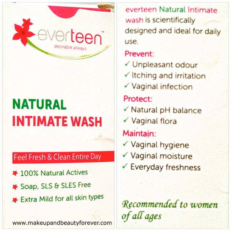 100% Natural Active Ingredients: Everteen is produced using 100% natural ingredients which makes it extra mild for all skin types. It does not contain any harmful chemicals & is also free from soap, SLS & SLES.