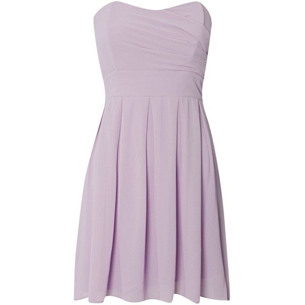 tfnc Strapless fit and flare dress and other apparel, accessories and trends. Browse and shop related looks.