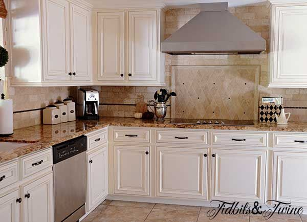 Updating 80 S Builder Grade Kitchen Cabinets Kitchen